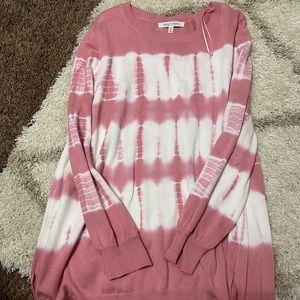 Plus size Tie Dye Sweater